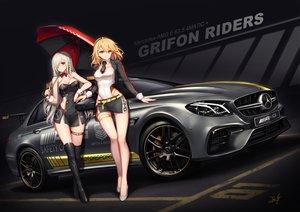Rating: Safe Score: 78 Tags: anthropomorphism baek_hyang blonde_hair blue_eyes braids car g36c_(girls_frontline) g36_(girls_frontline) girls_frontline gray_hair long_hair red_eyes User: Fepple