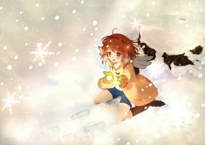 Rating: Safe Score: 36 Tags: boots kanon kippu red_eyes red_hair ribbons short_hair snow tsukimiya_ayu User: HawthorneKitty
