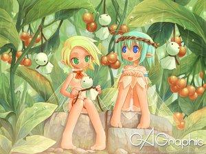 Rating: Safe Score: 32 Tags: blonde_hair blue_eyes fairy gagraphic green_eyes green_hair logo panties pointed_ears shigatake underwear watermark User: Oyashiro-sama