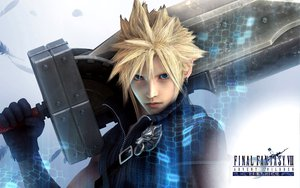 Rating: Safe Score: 78 Tags: blonde_hair blue_eyes cloud_strife final_fantasy final_fantasy_vii final_fantasy_vii_advent_children sword weapon User: acucar11