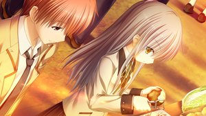 Rating: Safe Score: 23 Tags: angel_beats! food game_cg key male na-ga otonashi_yuzuru tachibana_kanade User: Tensa