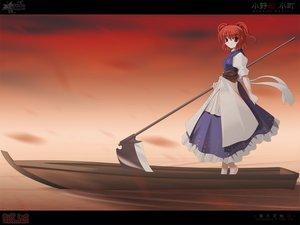 Rating: Safe Score: 11 Tags: onozuka_komachi scythe side_b sky touhou weapon User: 秀悟