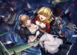 Rating: Safe Score: 104 Tags: anthropomorphism prince_of_wales repulse xiaoyin_li zhanjian_shaonu User: Flandre93
