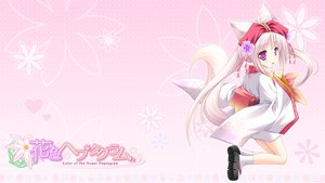 Rating: Safe Score: 67 Tags: animal_ears foxgirl hanairo_heptagram loli lump_of_sugar miyuri moekibara_fumitake tail User: Wiresetc