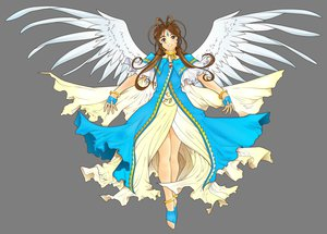 Rating: Safe Score: 28 Tags: aa_megami-sama belldandy transparent vector wings User: gnarf1975