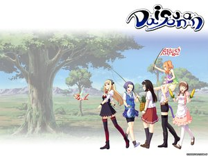 Rating: Safe Score: 13 Tags: animal_ears bike_shorts biyori blonde_hair boots braids brown_hair daisounan_(game) dress fairy food fruit garter group hat headdress long_hair mifuyu mikoto_(daisounan) nagiko purple_hair sairi school_uniform short_hair shorts skirt tail thighhighs tree wink wristwear yoriko User: rargy