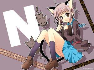 Rating: Safe Score: 31 Tags: animal animal_ears book cat catgirl glasses nagato_yuki purple suzumiya_haruhi_no_yuutsu User: Oyashiro-sama