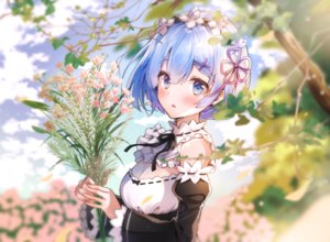 Rating: Safe Score: 76 Tags: blue_eyes blue_hair blush clouds flowers headband melings rem_(re:zero) re:zero_kara_hajimeru_isekai_seikatsu short_hair sky User: BattlequeenYume