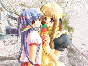Rating: Safe Score: 6 Tags: carnelian food ice_cream pointed_ears tagme User: Oyashiro-sama