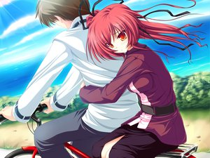 Rating: Safe Score: 9 Tags: game_cg magus_tale ponytail red_hair seera_finis_victoria tenmaso whirlpool User: Oyashiro-sama