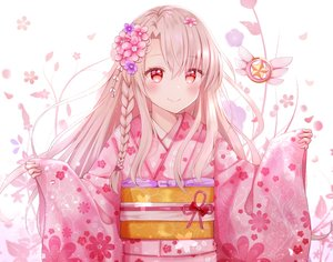 Rating: Safe Score: 91 Tags: blush braids brown_hair fate/kaleid_liner_prisma_illya fate_(series) illyasviel_von_einzbern japanese_clothes kimono long_hair nasii red_eyes User: RyuZU