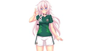 Rating: Safe Score: 46 Tags: aqua_eyes choker fast-runner-2024 ia pink_hair shorts soccer sport uniform vocaloid white User: gnarf1975