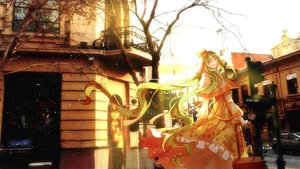 Rating: Safe Score: 70 Tags: building dress hatsune_miku long_hair photo tree vocaloid winter yasato User: Flandre93