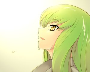 Rating: Safe Score: 98 Tags: cc close code_geass crying green_hair long_hair tears yellow_eyes yukari_(konekonekozou) User: Tensa