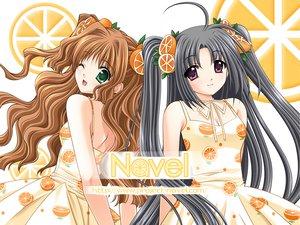 Rating: Safe Score: 5 Tags: 2girls navel_(company) nishimata_aoi suzuhira_hiro tagme watermark User: Davison