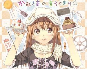 Rating: Safe Score: 110 Tags: brown_eyes brown_hair hat kantoku miyaguchi_kei original scarf User: Wiresetc