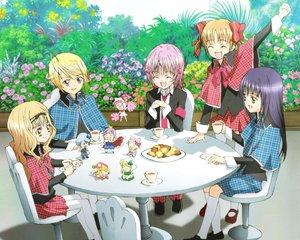 Rating: Safe Score: 15 Tags: fujisaki_nagihiko hinamori_amu hotori_tadase kiseki_(character) kusukusu_(character) mashiro_rima miki_(shugo_chara) peach-pit pepe pink_hair ran_(shugo_chara) shugo_chara suu_(shugo_chara) yellow_eyes yuiki_yaya User: Nightboyz