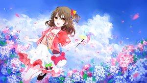 Rating: Safe Score: 44 Tags: brown_hair dress flowers girl_cafe_gun_(game) su_xiaozhen yu_jiu User: BattlequeenYume