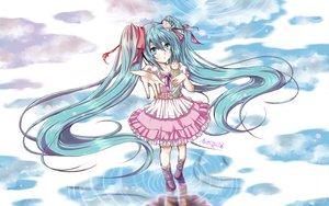 Rating: Safe Score: 39 Tags: dress hatsune_miku long_hair melt_(vocaloid) twintails vocaloid User: HawthorneKitty