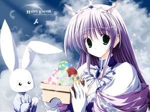 Rating: Safe Score: 15 Tags: animal feena_fam_earthlight rabbit yoake_mae_yori_ruri_iro_na User: Oyashiro-sama