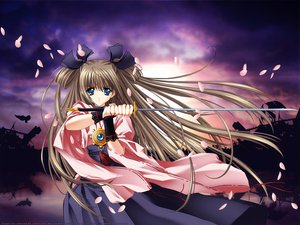 Rating: Safe Score: 7 Tags: carnelian petals sword weapon User: Oyashiro-sama