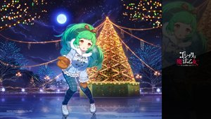 Rating: Safe Score: 51 Tags: blush christmas clouds gloves gothic_wa_mahou_otome green_hair ichi_ni_ichi logo long_hair luccica_(gothic_wa_mahou_otome) moon night reflection ribbons snow sport stars tree watermark winter yellow_eyes zoom_layer User: bunnymanjack