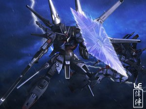 Rating: Safe Score: 53 Tags: gun gundam_seed gundam_seed_destiny mecha mobile_suit_gundam sky weapon User: lost91colors