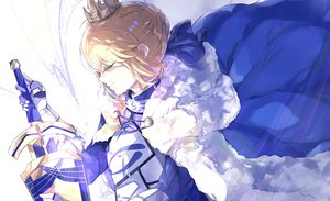 Rating: Safe Score: 53 Tags: artoria_pendragon_(all) fate/grand_order fate_(series) saber tagme_(artist) User: luckyluna