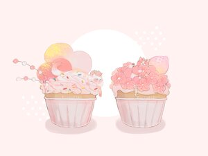 Rating: Safe Score: 13 Tags: animal cake cat cherry_blossoms flowers food fruit hakuchizu_(jedo) nobody original pink polychromatic strawberry watermark User: otaku_emmy