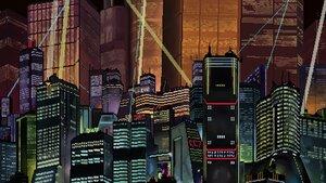 Rating: Safe Score: 10 Tags: akira building city night User: klortt999