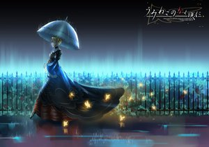 Rating: Safe Score: 84 Tags: beatrice jpeg_artifacts madcocoon rain umbrella umineko_no_naku_koro_ni water User: FormX