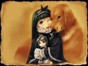Rating: Safe Score: 26 Tags: animal dog goth-loli lolita_fashion simosi User: Oyashiro-sama