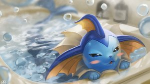 Rating: Safe Score: 41 Tags: bath bathtub blush bubbles cat_smile nobody pokemon spareribs vaporeon watermark User: otaku_emmy