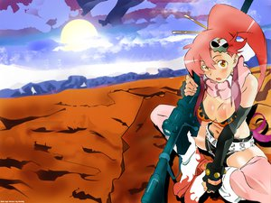 Rating: Safe Score: 13 Tags: tengen_toppa_gurren_lagann yoko_littner User: Oyashiro-sama