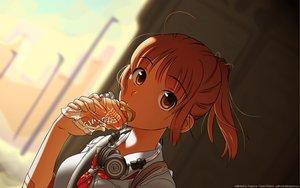 Rating: Safe Score: 81 Tags: close food headphones kimikiss sakino_asuka User: c86