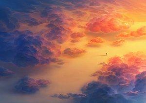 Rating: Safe Score: 51 Tags: clouds heriki_(trkj) nobody orange original polychromatic User: FormX