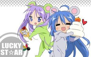 Rating: Safe Score: 36 Tags: 2girls hiiragi_kagami izumi_konata lucky_star vector User: Oyashiro-sama