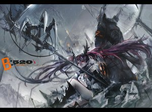 Rating: Safe Score: 156 Tags: original rain red_eyes twintails water weapon zis User: FormX
