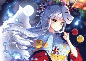 Rating: Safe Score: 130 Tags: japanese_clothes jpeg_artifacts mask masuishi_kinoto User: RyuZU