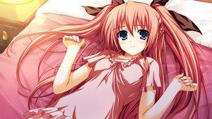Rating: Safe Score: 142 Tags: akatsuki_no_goei bed blush game_cg nikaidoh_reika syangrila tomose_shunsaku User: ssagwp
