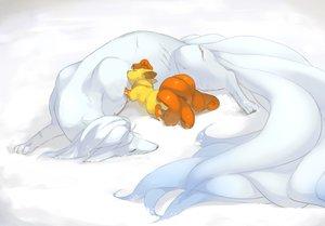 Rating: Safe Score: 50 Tags: babiuxxx ninetales pokemon vulpix white User: C4R10Z123GT
