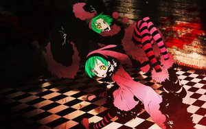 Rating: Safe Score: 34 Tags: blood dogs:_bullets_&_carnage green_hair luki noki orange_eyes twins User: Destroying