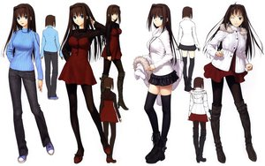 Rating: Safe Score: 101 Tags: aozaki_aoko mahou_tsukai_no_yoru pantyhose thighhighs type-moon white User: Wiresetc