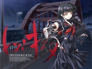 Rating: Safe Score: 52 Tags: black_hair blood night reconquista school_uniform sword tagme weapon yellow_eyes User: Oyashiro-sama