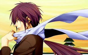 Rating: Safe Score: 27 Tags: all_male hakuouki_shinsengumi_kitan male purple_eyes purple_hair saitou_hajime scarf User: Maboroshi