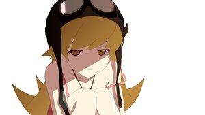 Rating: Safe Score: 51 Tags: bakemonogatari blonde_hair dress goggles hat long_hair monogatari_(series) oshino_shinobu summer_dress vector white User: HawthorneKitty