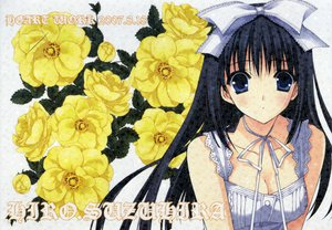 Rating: Safe Score: 14 Tags: black_hair blue_eyes breasts cleavage flowers ribbons suzuhira_hiro User: Oyashiro-sama