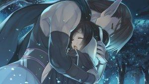 Rating: Safe Score: 34 Tags: amazuyu_tatsuki crying game_cg hug kuon_(utawarerumono) male mitsumi_misato oboro tagme tears utawarerumono utawarerumono_itsuwari_no_kamen User: feiyuelisky