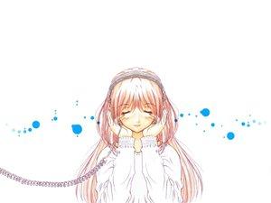 Rating: Safe Score: 23 Tags: headphones kazami_mizuho onegai_teacher white User: Oyashiro-sama