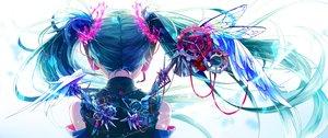 Rating: Safe Score: 87 Tags: aliasing hatsune_miku long_hair shirayuki_towa twintails vocaloid User: luckyluna